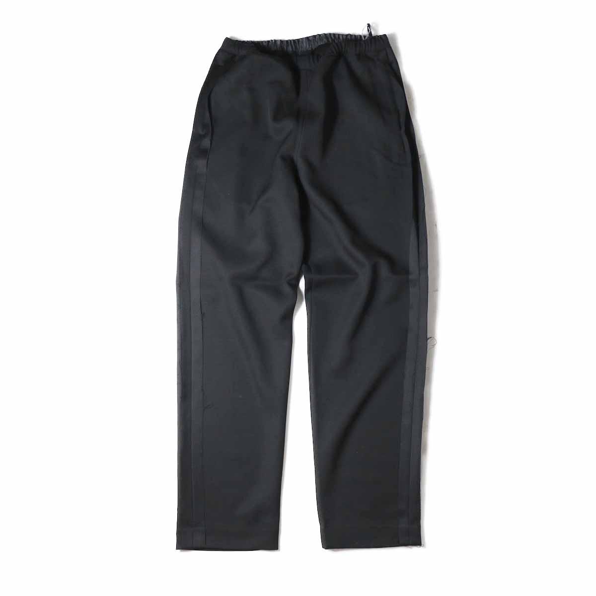 UNUSED / UW0689 Wool Easy Pant -BLACK