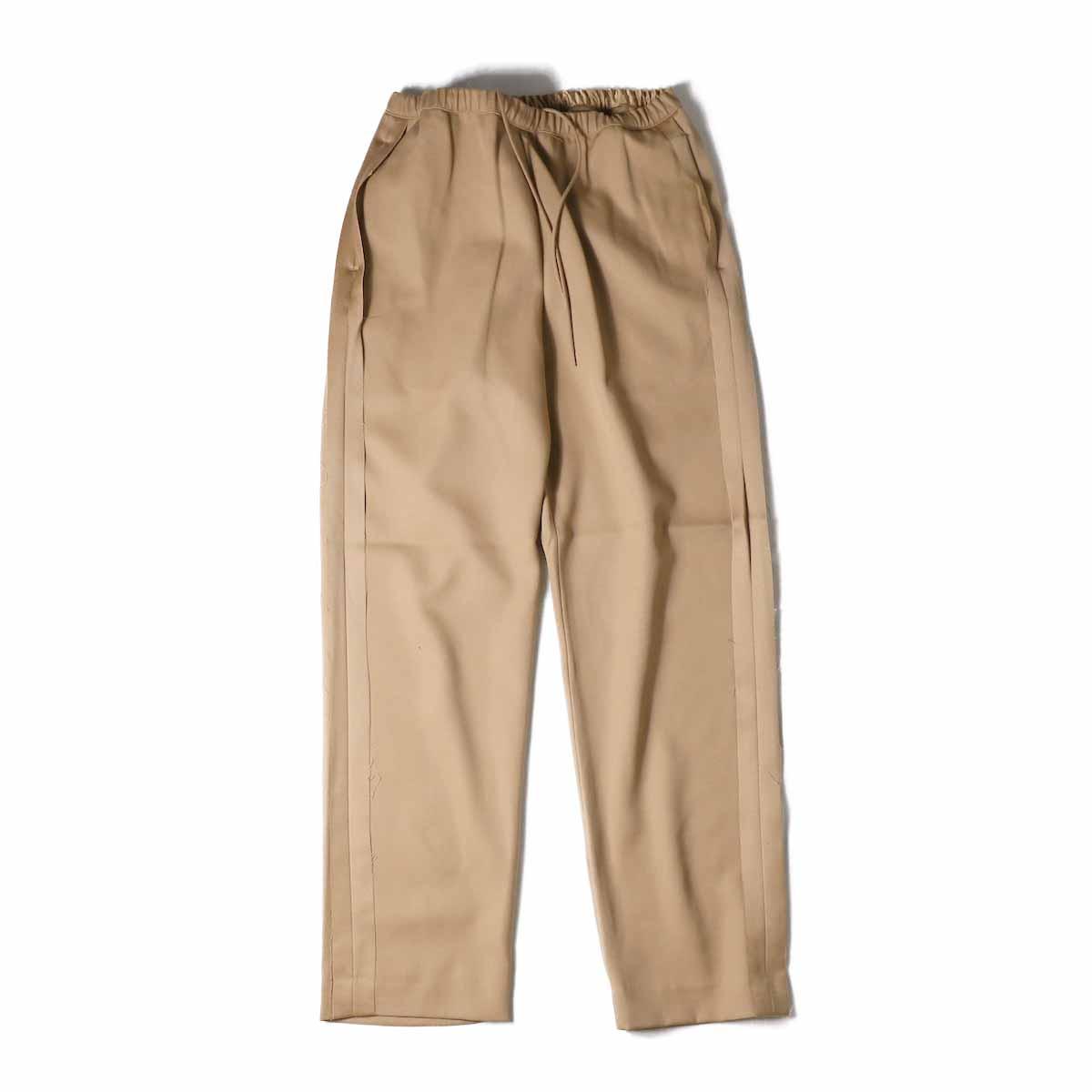 UNUSED / UW0689 Wool Easy Pant -CAMEL