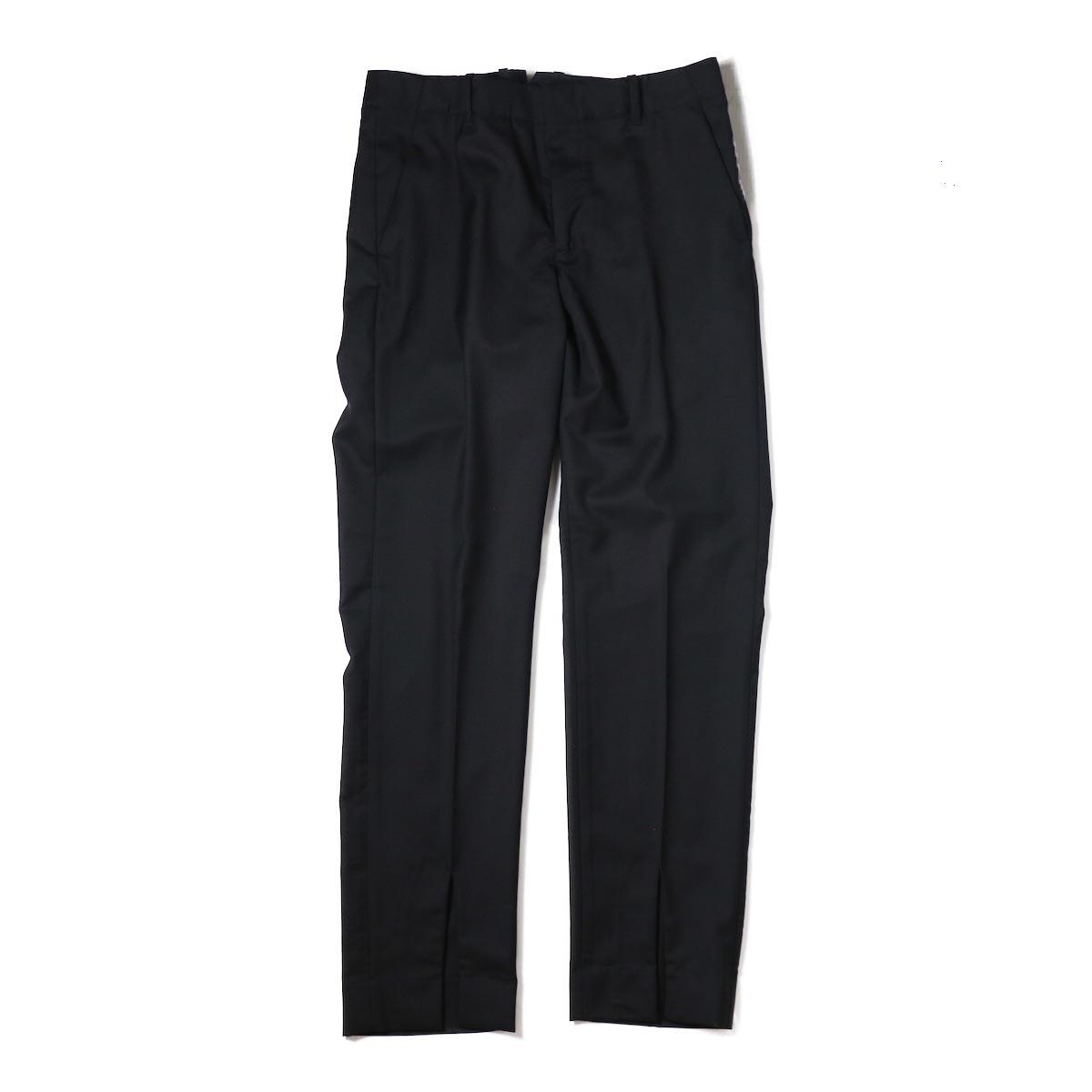 UNUSED / UW0716 Lace Up Slacks -BLACK