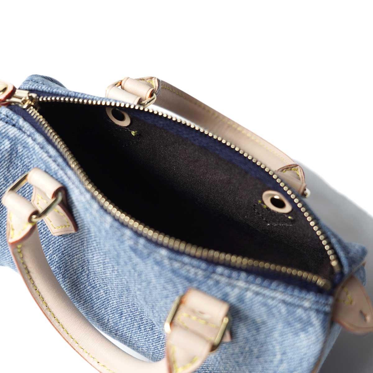 UNUSED / UH0559 Denim Shoulder Bag (indido) 裏地