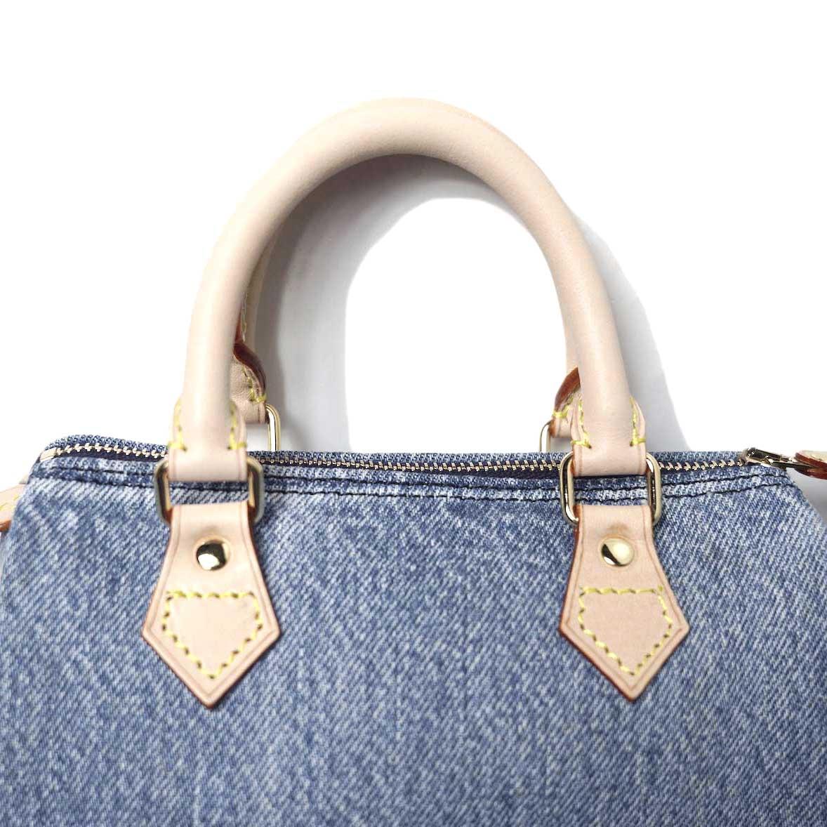 UNUSED / UH0559 Denim Shoulder Bag (indido) 持ち手アップ
