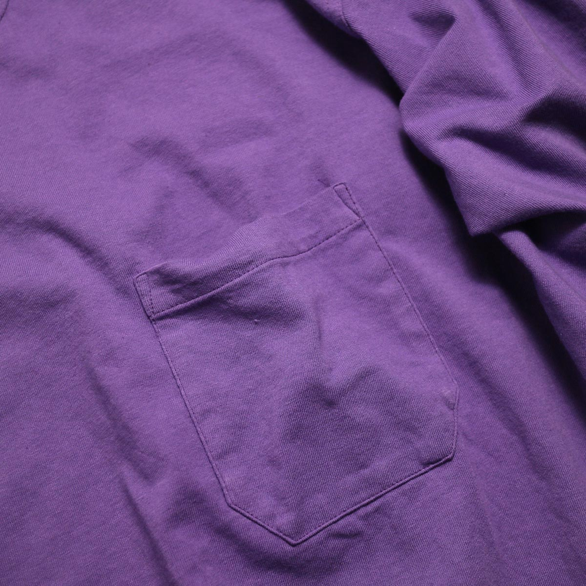 UNUSED / US1595 Long Sleeve Pocket T-Shirt -Purple ポケット