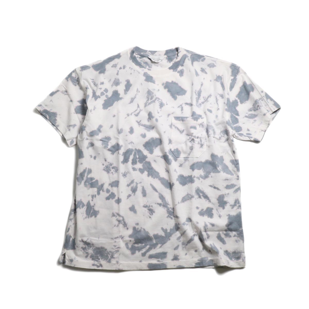 UNUSED / US1625 Tie Dye Tee -White
