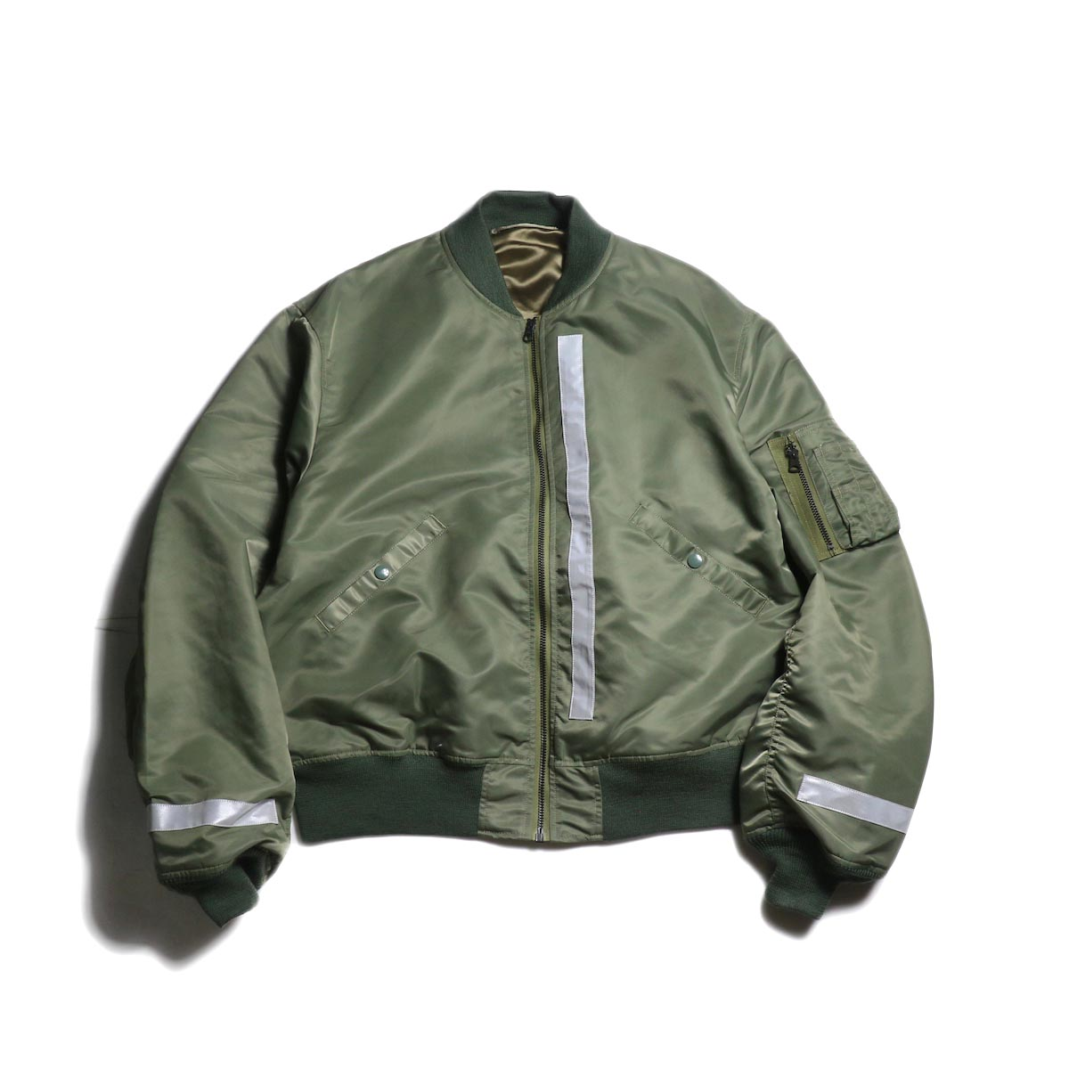 UNUSED × Buzz Rickson's / US1640 Reversible Flight Jacket (Sage Green)