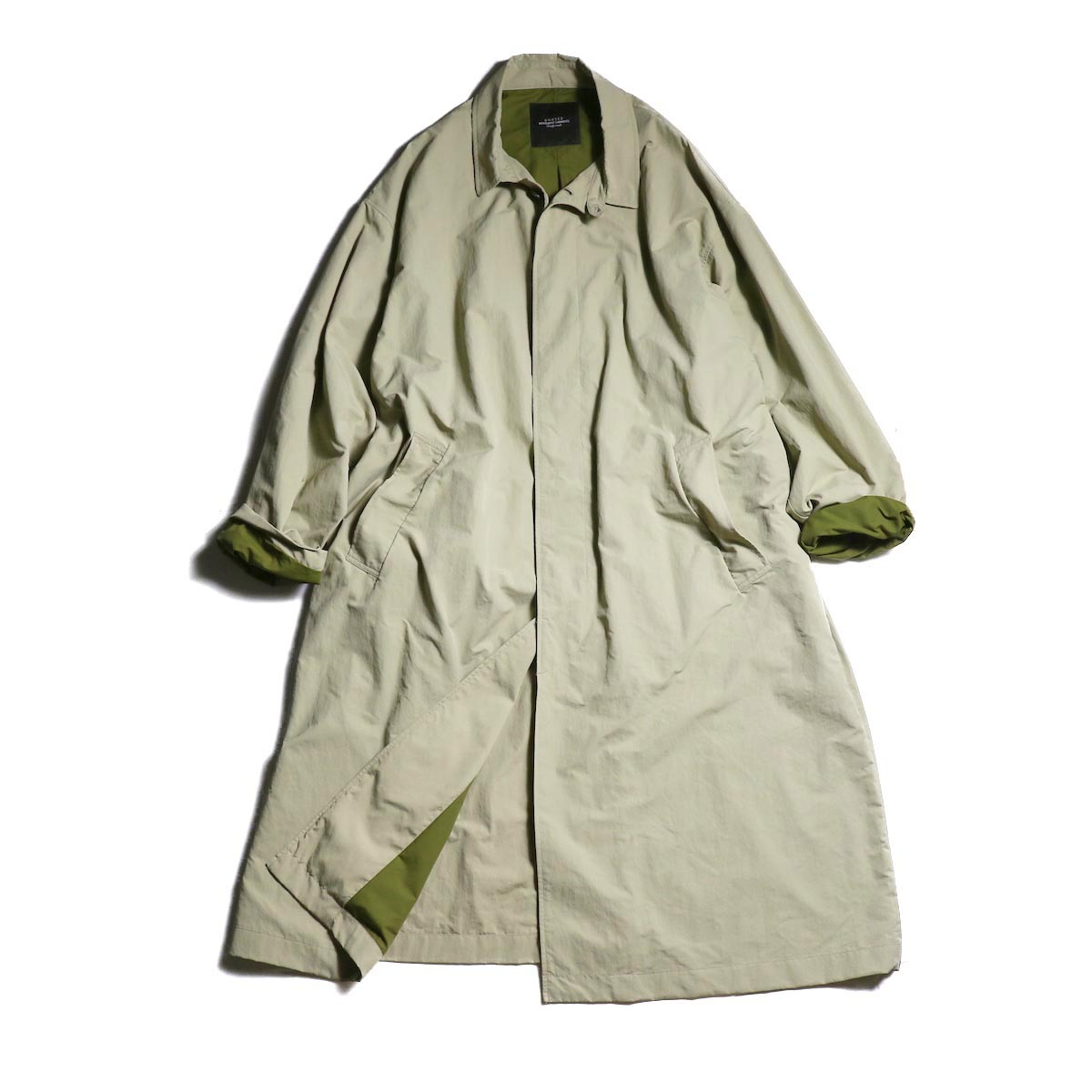 UNUSED / US1670 Nylon Coat. (Beige)