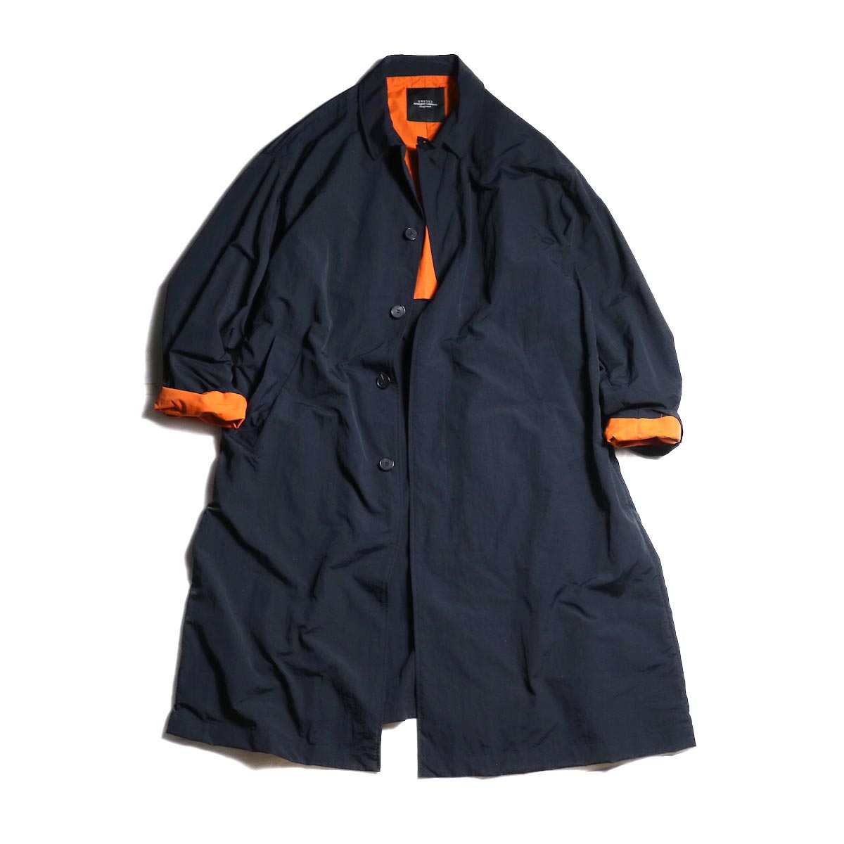 UNUSED / US1670 Nylon Coat. (Black)