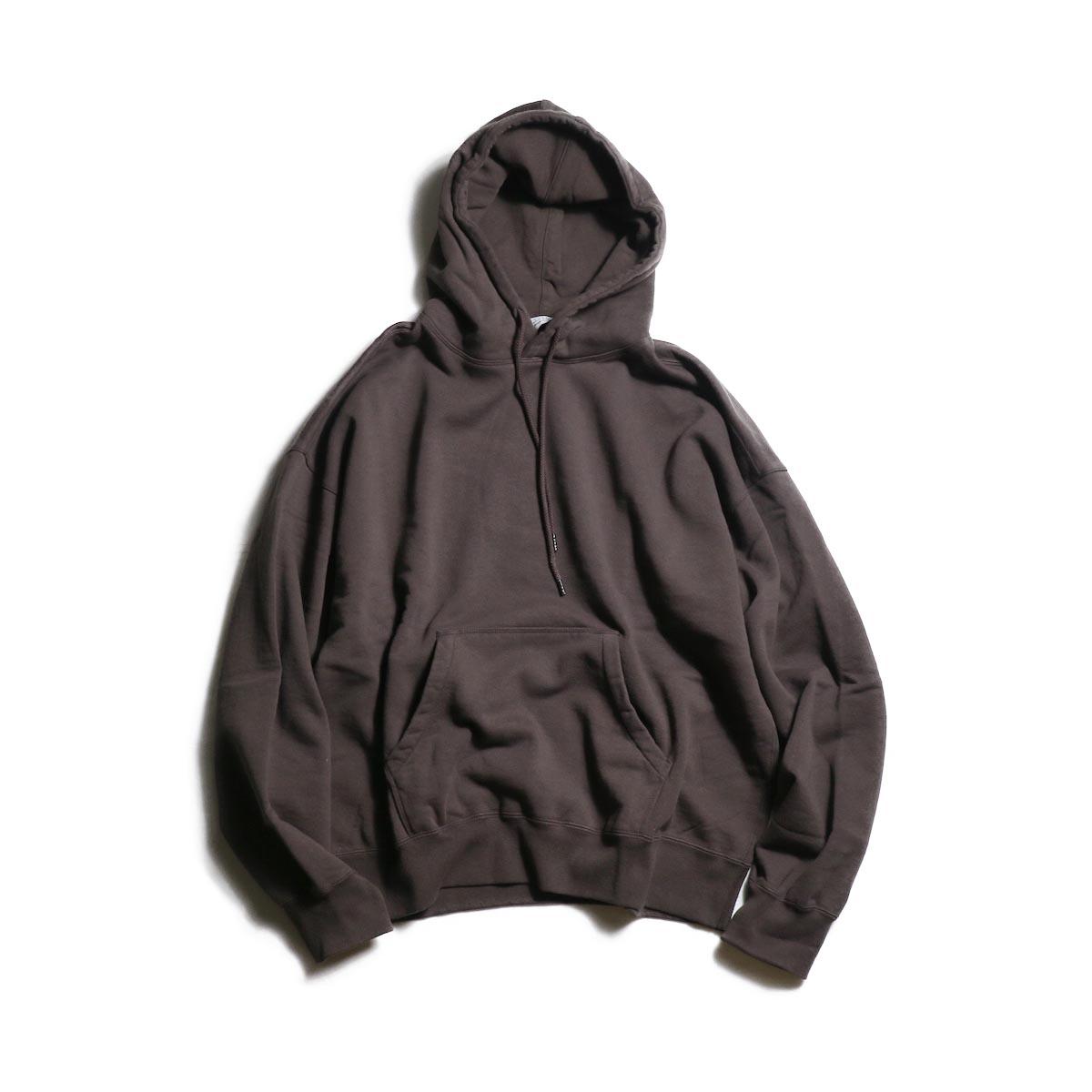 UNUSED / US1680 pullover sweat hoodie -Brown