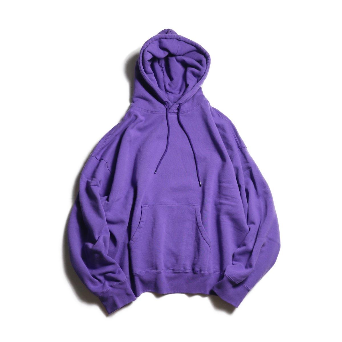 UNUSED / US1680 pullover sweat hoodie -Purple