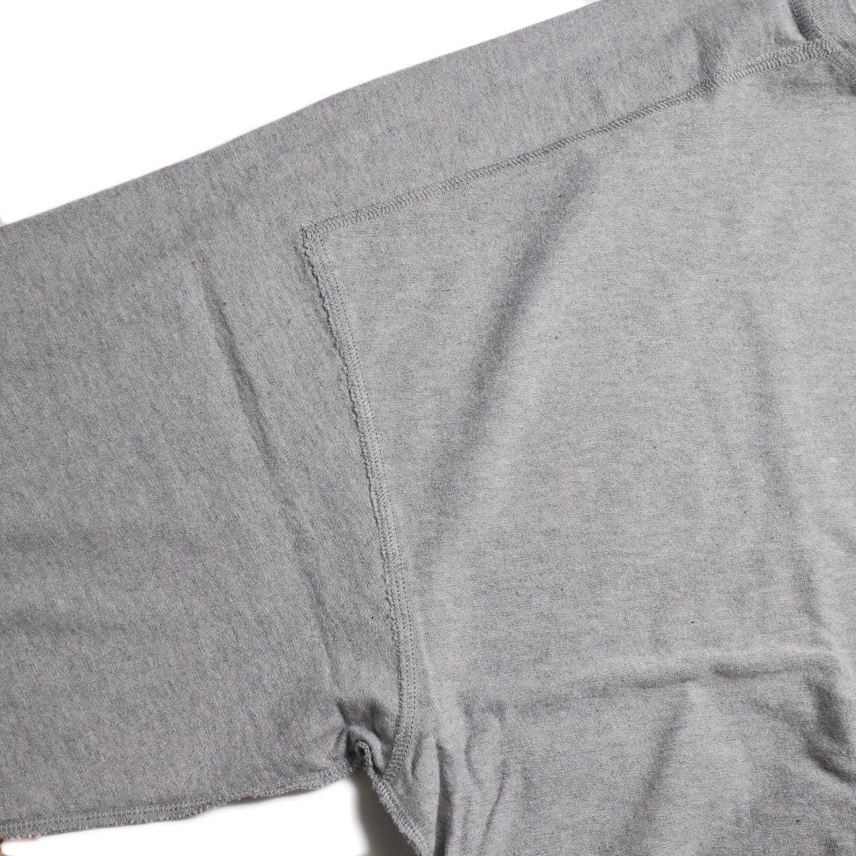 UNUSED / US1686 Long Sleeve T-Shirt -Heather Gray インサイドアウト