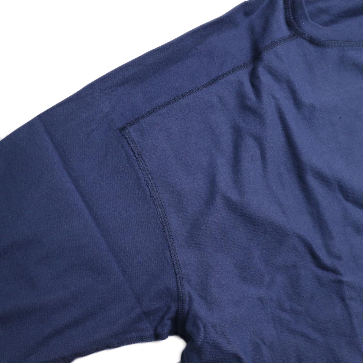 UNUSED / US1686 Long Sleeve T-Shirt -Navy インサイドアウト