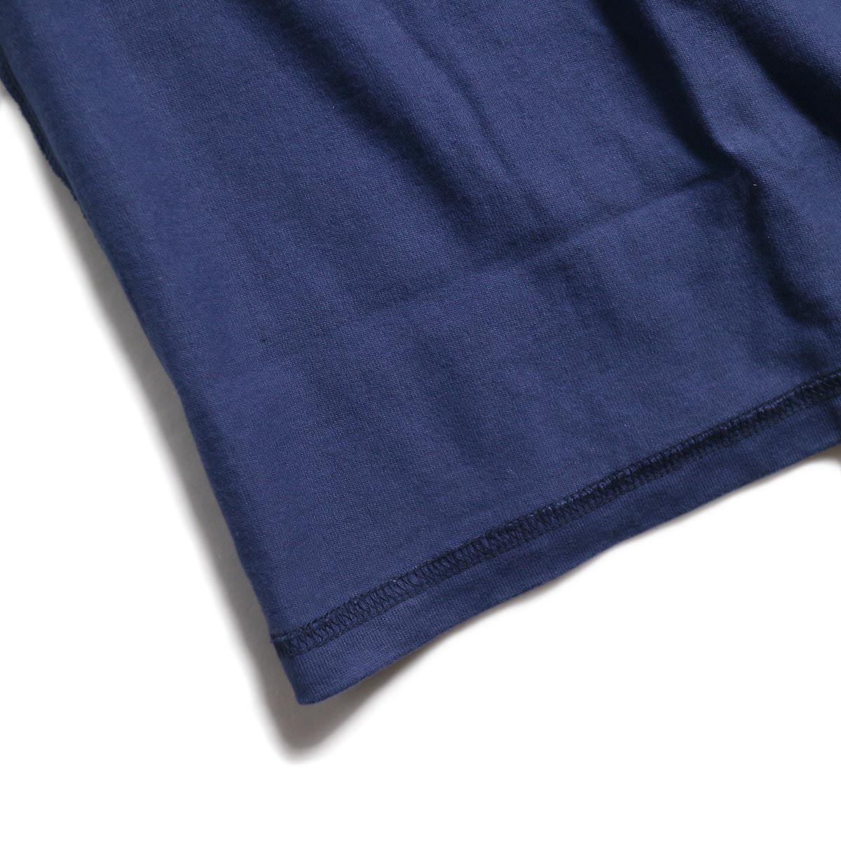 UNUSED / US1686 Long Sleeve T-Shirt -Navy 裾