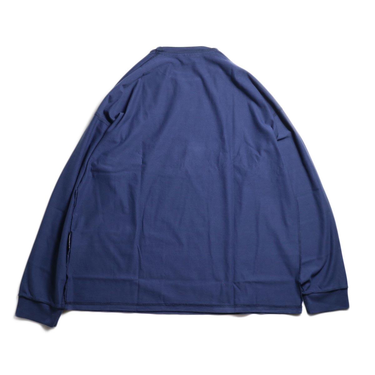 UNUSED / US1686 Long Sleeve T-Shirt -Navy 背面