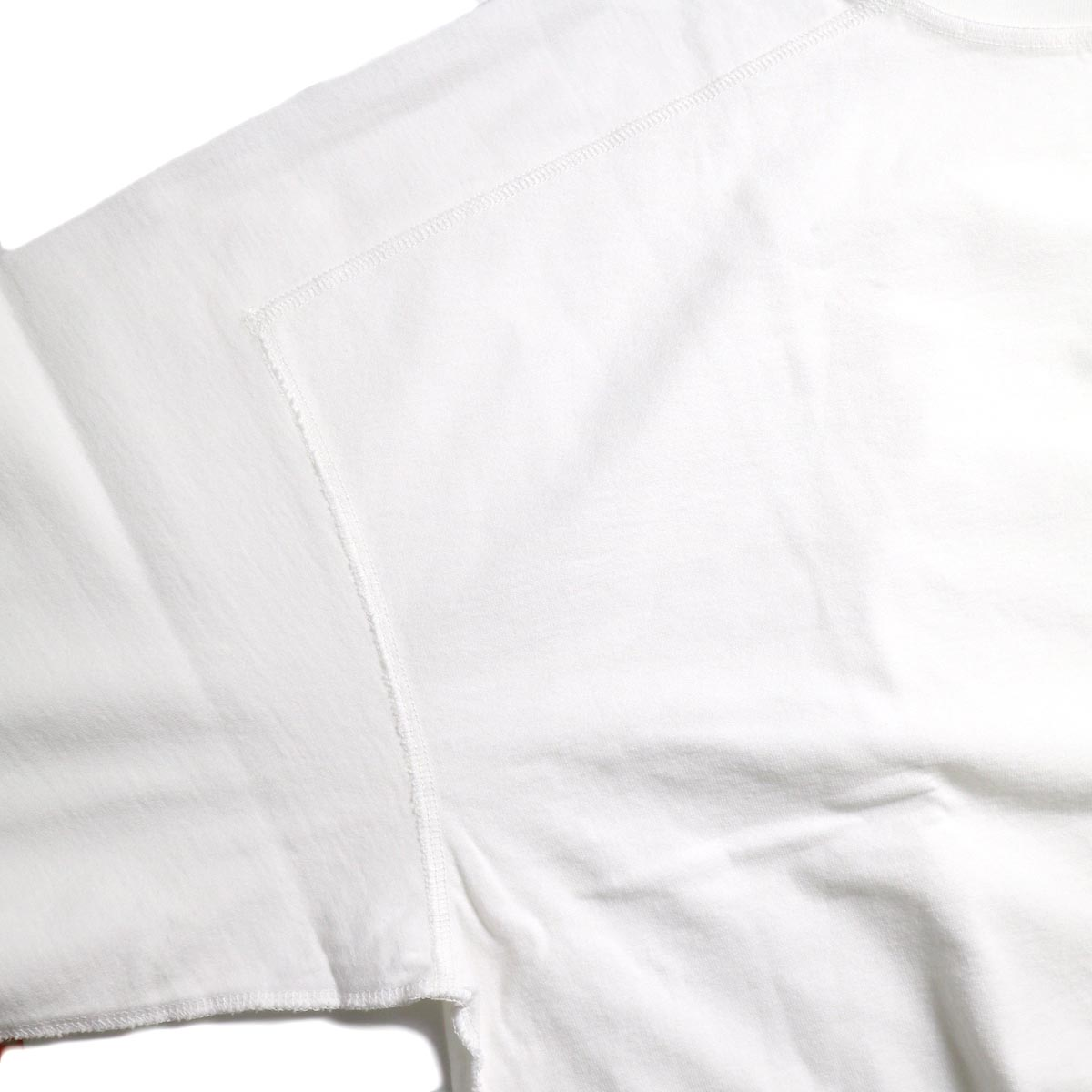 UNUSED / US1686 Long Sleeve T-Shirt -White インサイドアウト