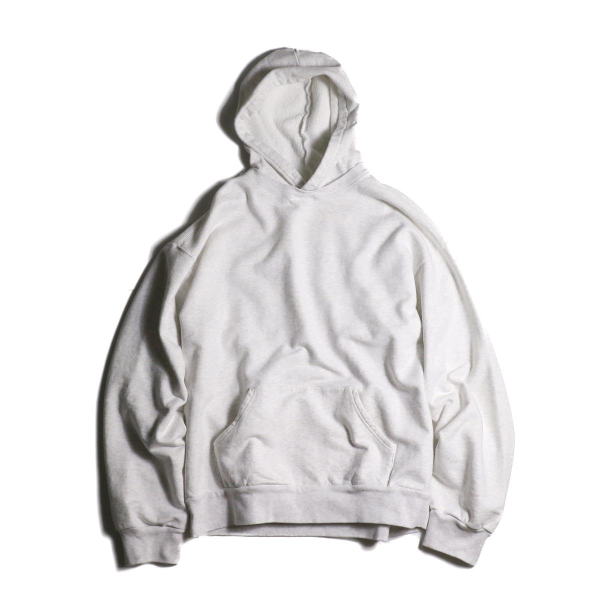 UNUSED / US1736 sweat hoodie (Melange White)