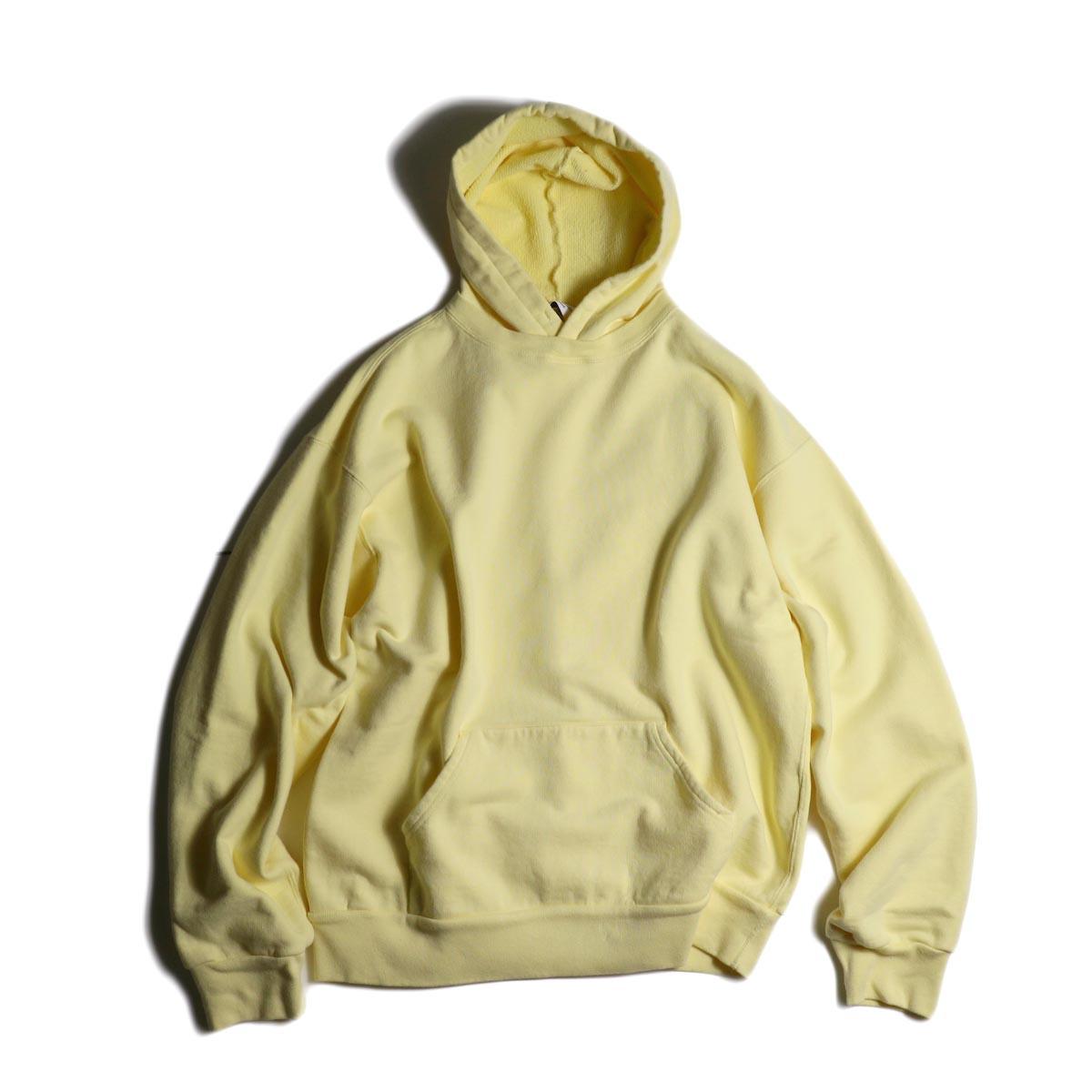 UNUSED / US1736 sweat hoodie (Yellow)