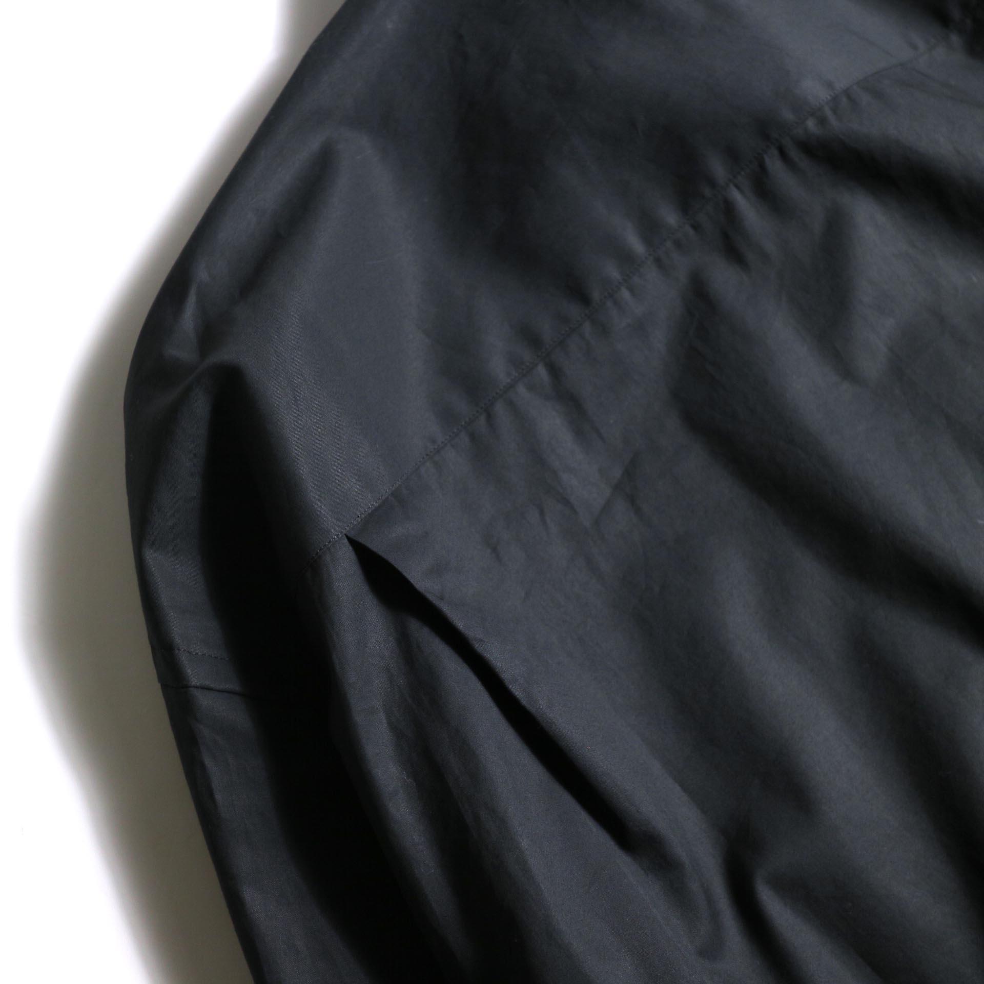 UNUSED / US1743 Slit Shit (Black) タック