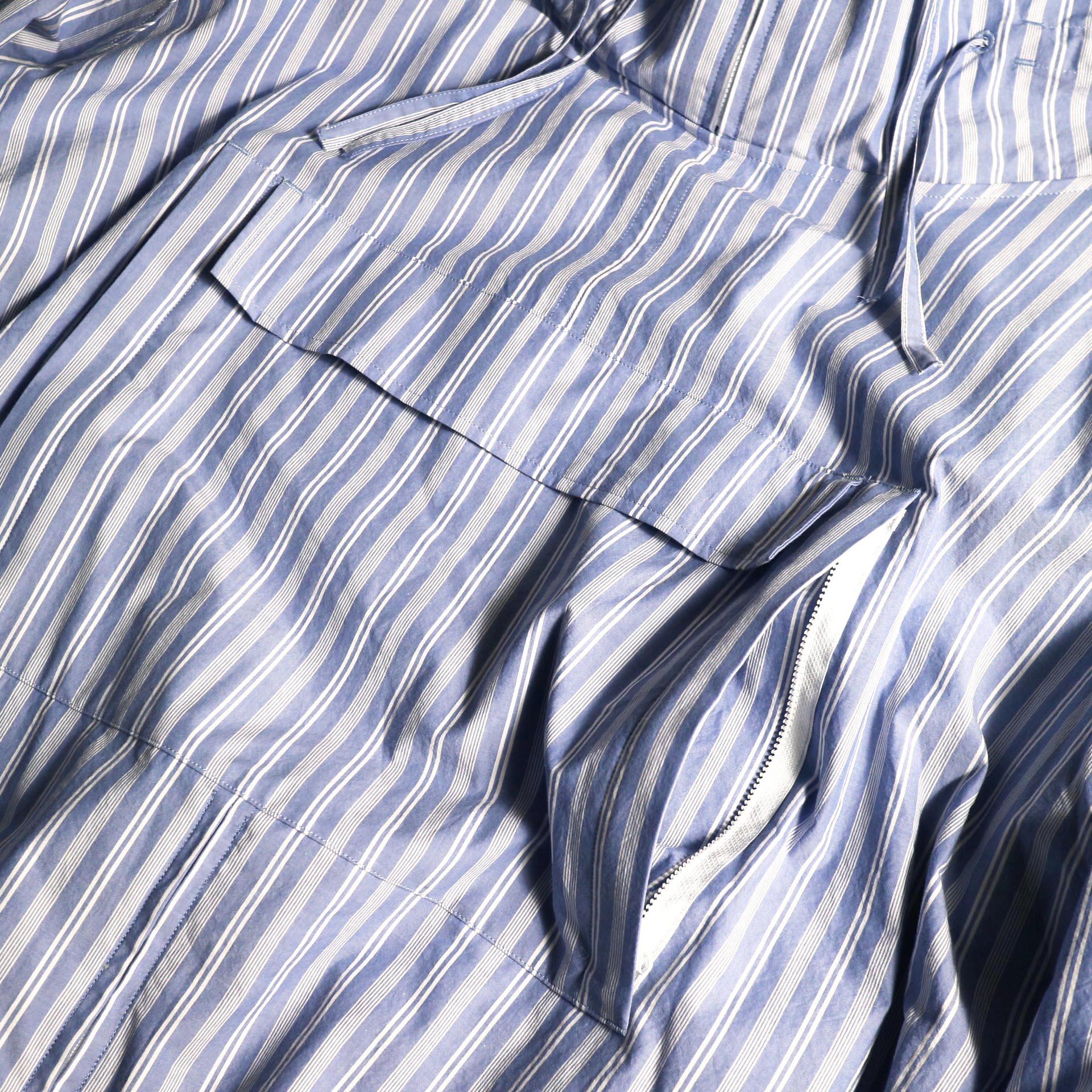 UNUSED / US1793 Shirt Anorak (Sax Stripe) ポケット