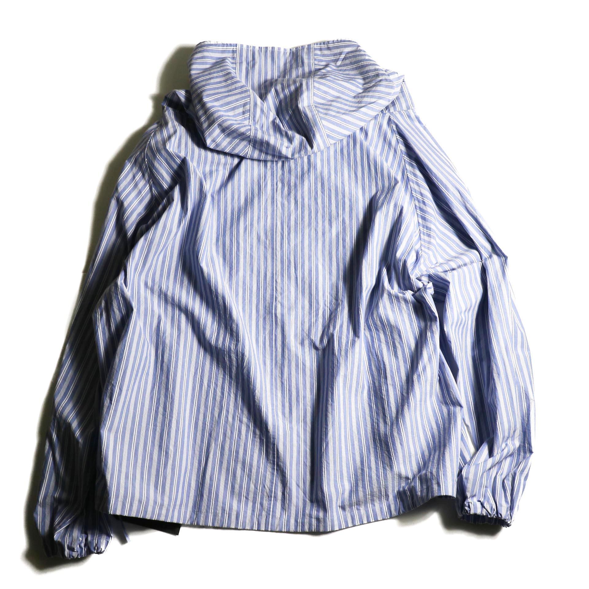 UNUSED / US1793 Shirt Anorak (Sax Stripe) 背面