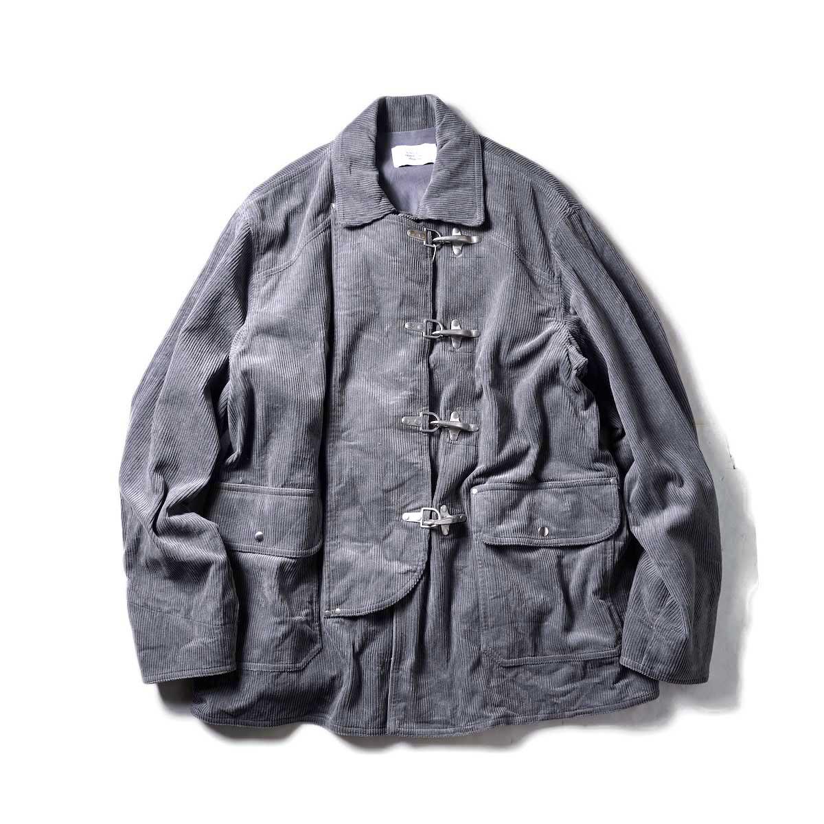 UNUSED / US2073 Fireman Jacket (Gray)