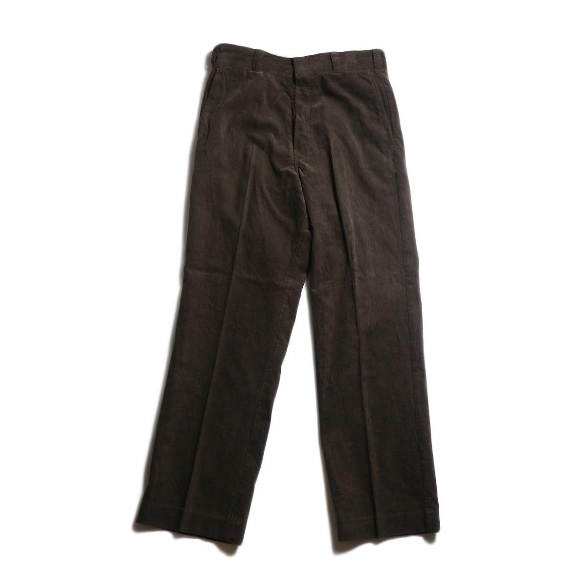 UNUSED × Dickies / UW0774 corduroy pant -Chocolate