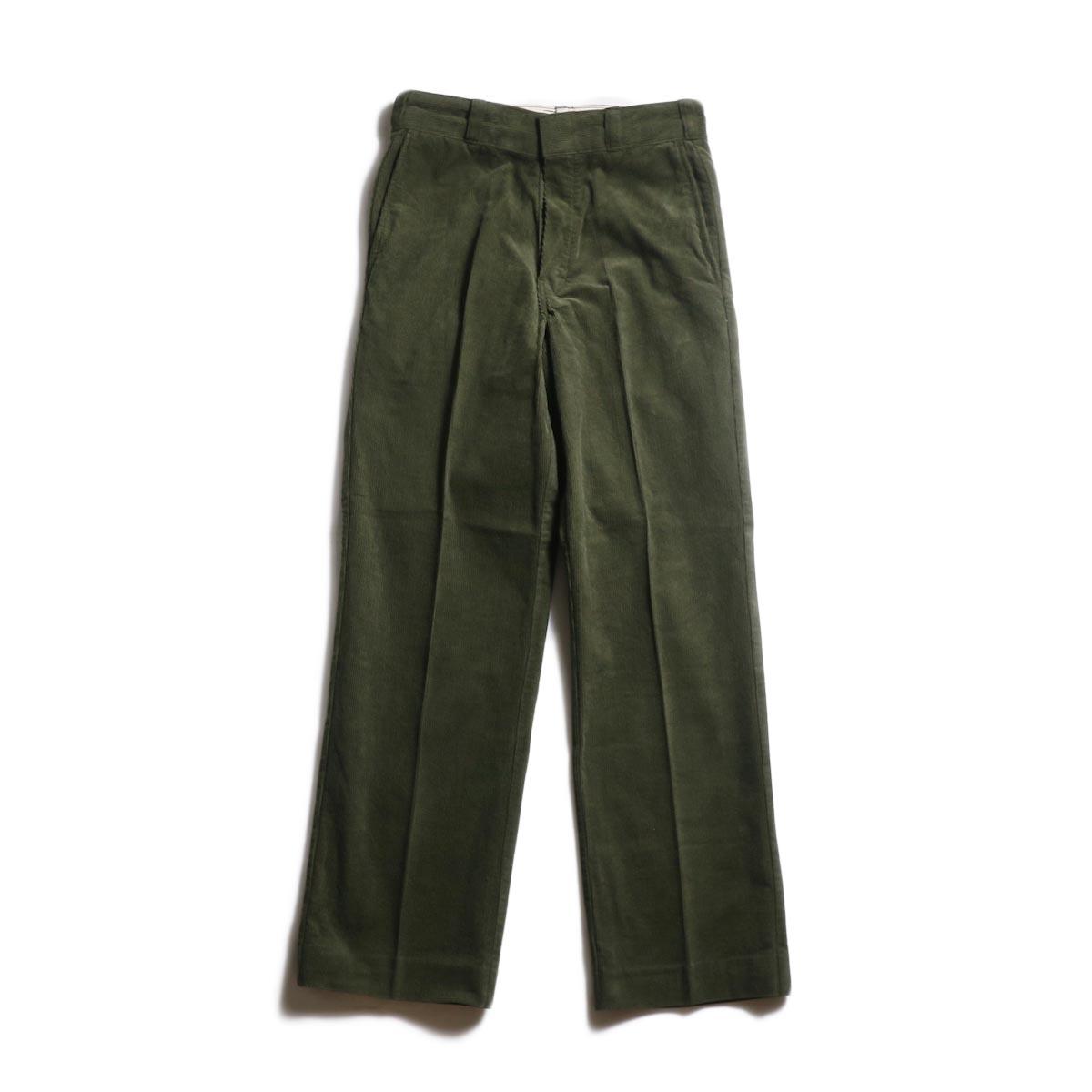 UNUSED × Dickies / UW0774 corduroy pant -Olive
