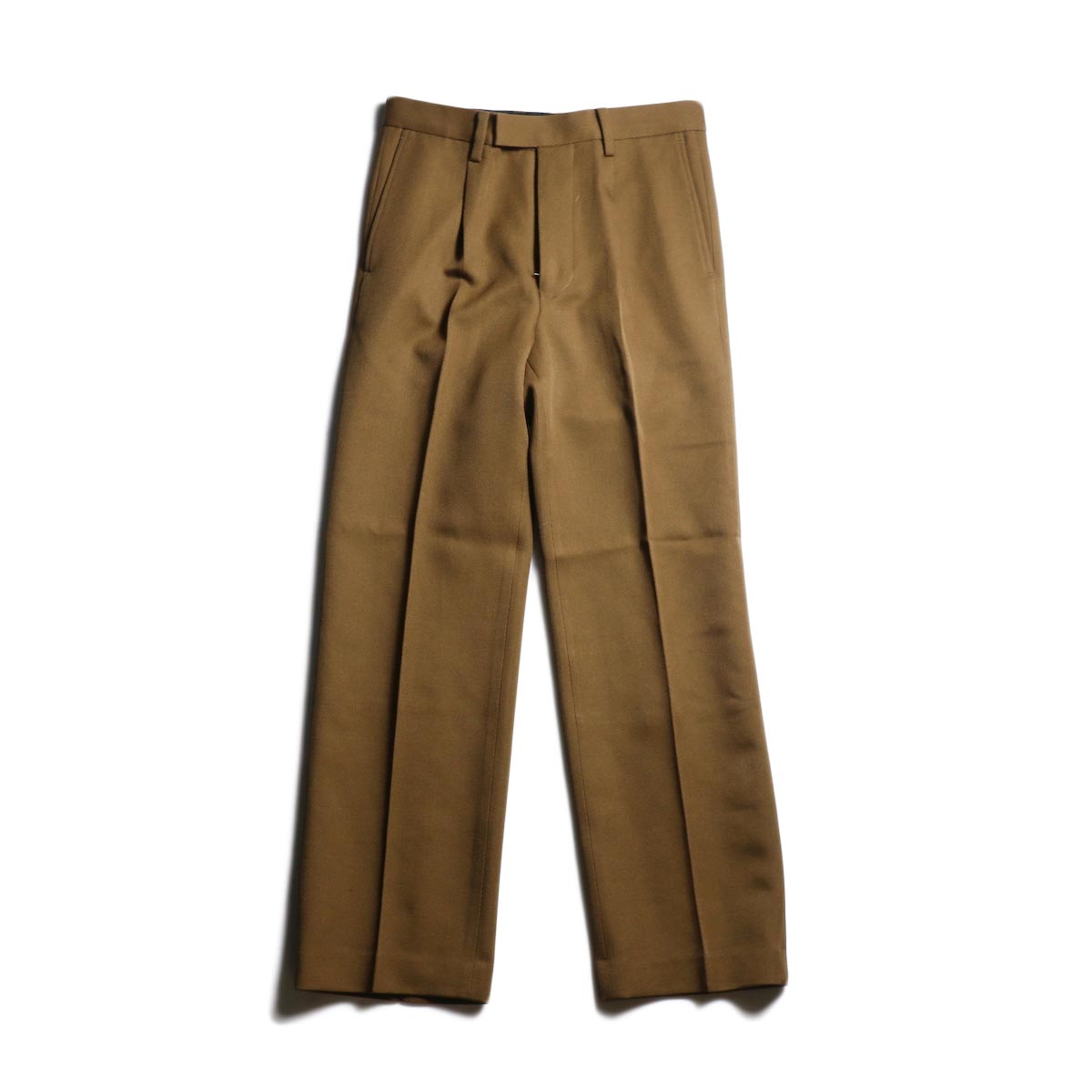 UNUSED / UW0799 Wool Slacks (Brown)
