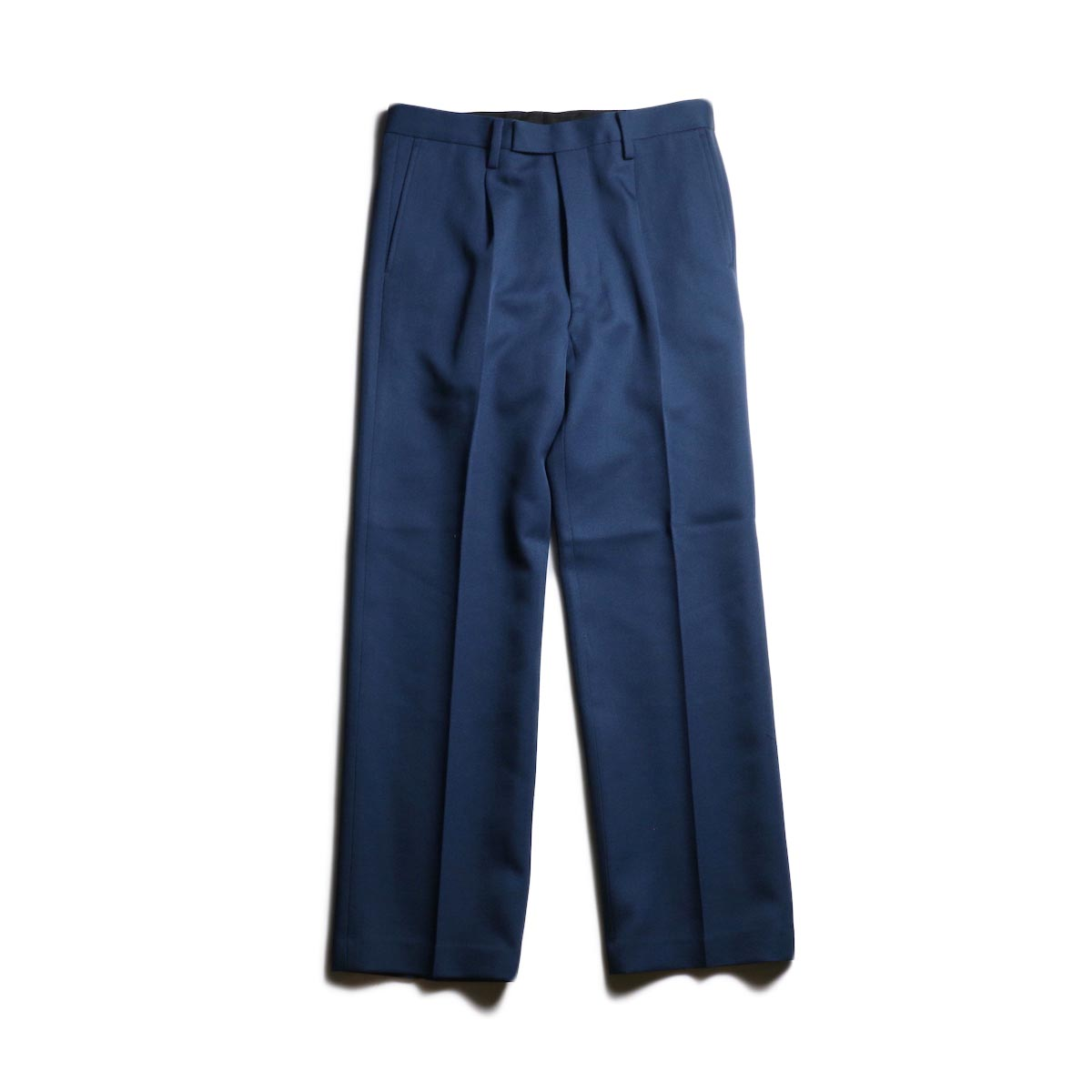 UNUSED / UW0799 Wool Slacks (Navy)
