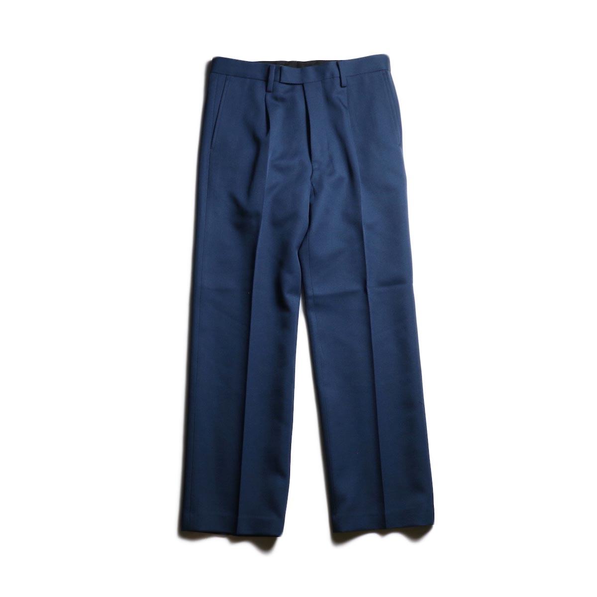 UNUSED / UW0799 Wool Slacks (Navy)