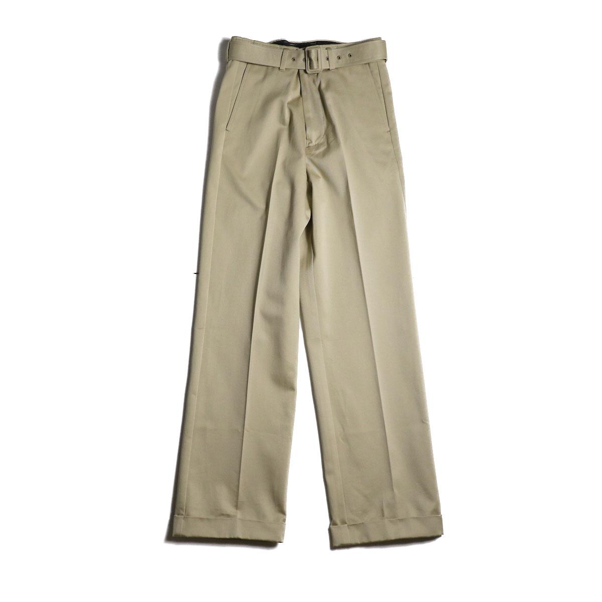 UNUSED / UW0840 Belted Pants (Beige)