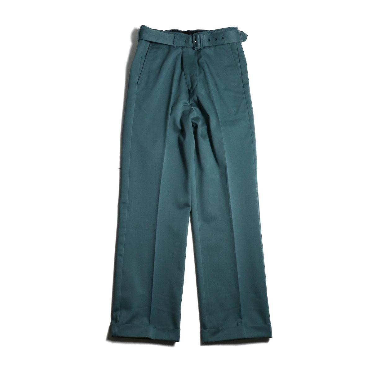 UNUSED / UW0840 Belted Pants (Green) 正面