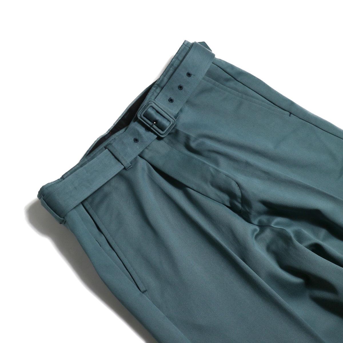 UNUSED / UW0840 Belted Pants (Green) ベルト