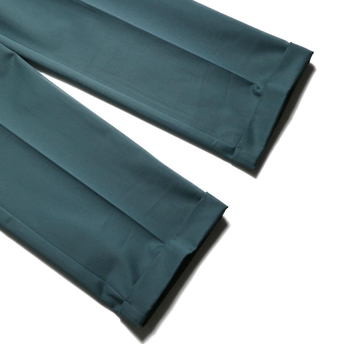 UNUSED / UW0840 Belted Pants (Green) 裾(ダブル)