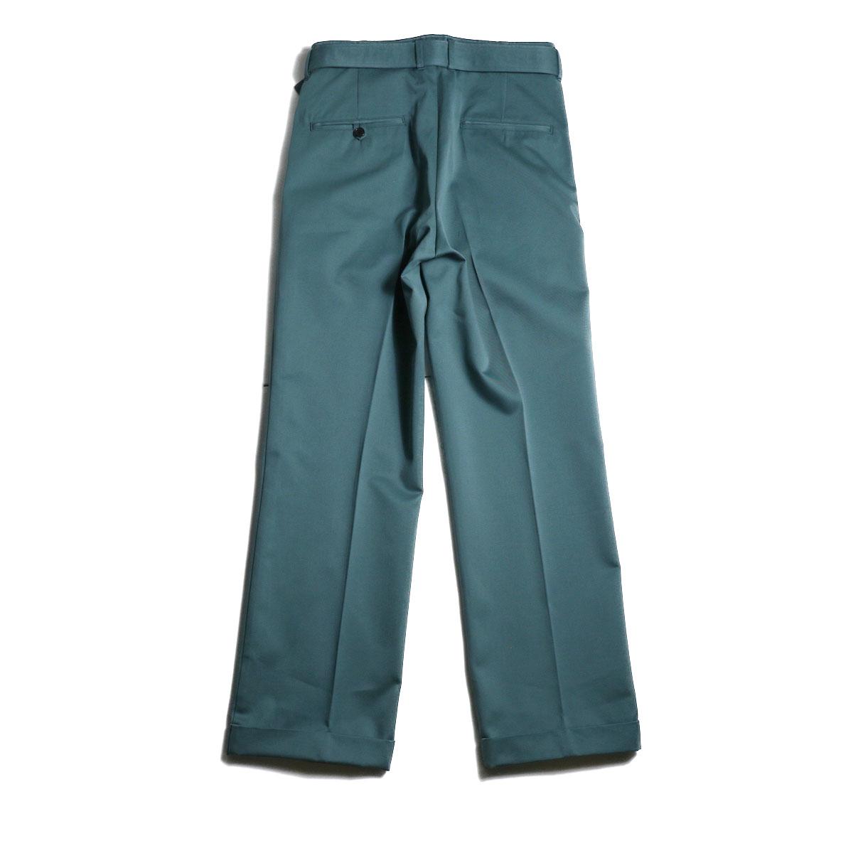 UNUSED / UW0840 Belted Pants (Green) 背面