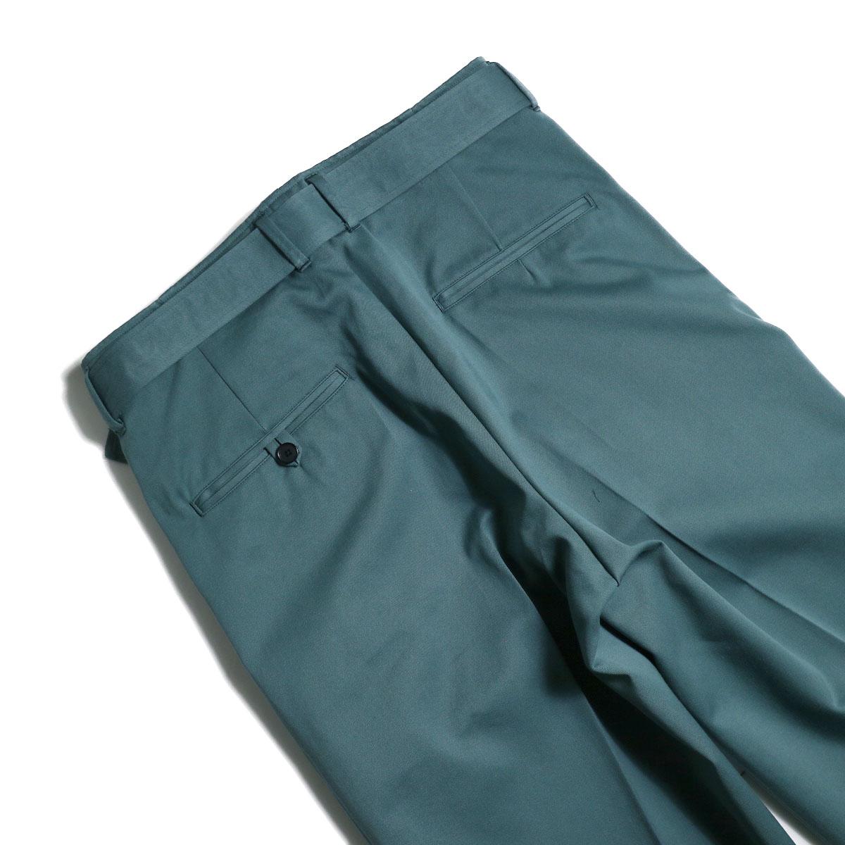 UNUSED / UW0840 Belted Pants (Green)ヒップポケット