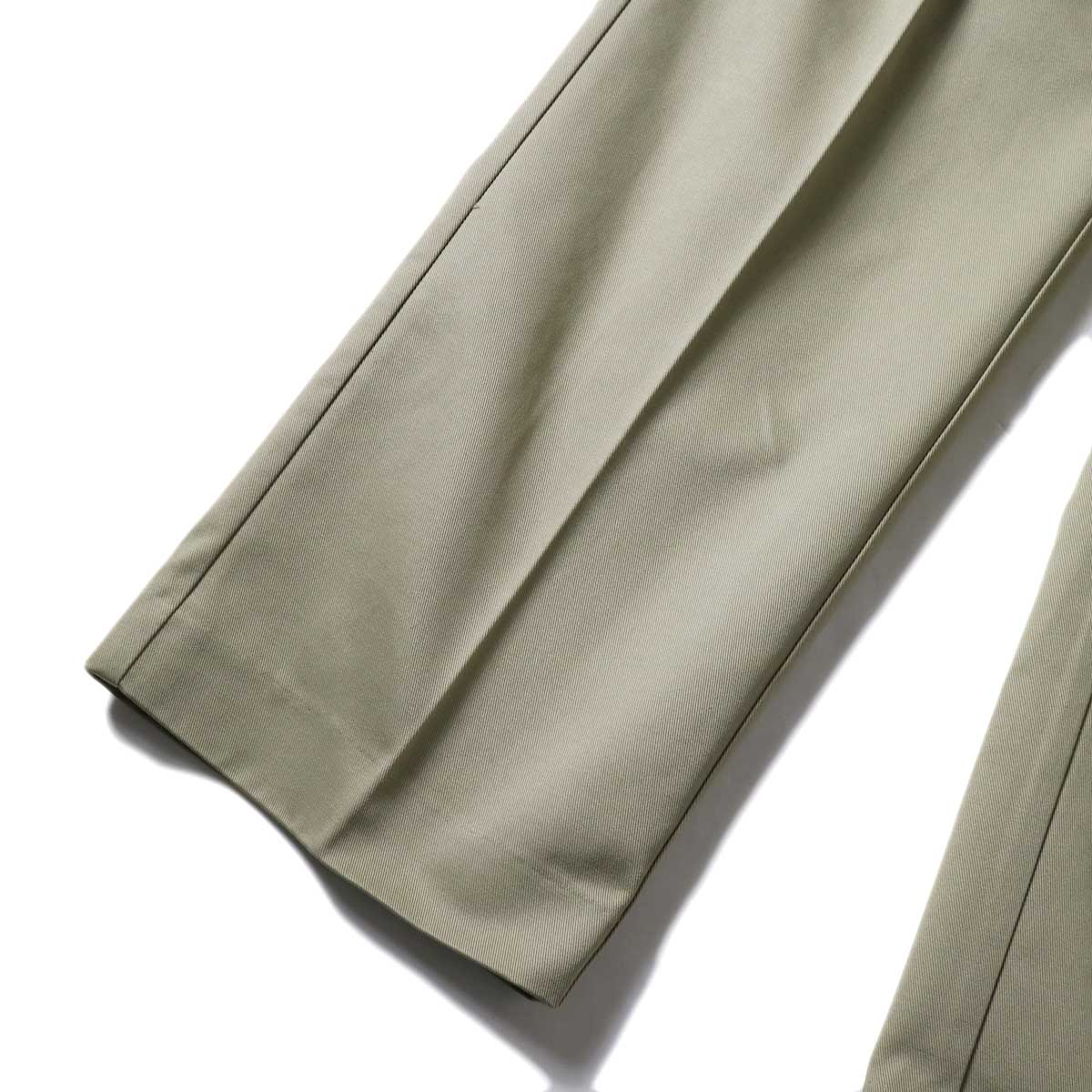 UNUSED / UW0913 Unused x Dickies  2Tuck Pants (Beige) 裾