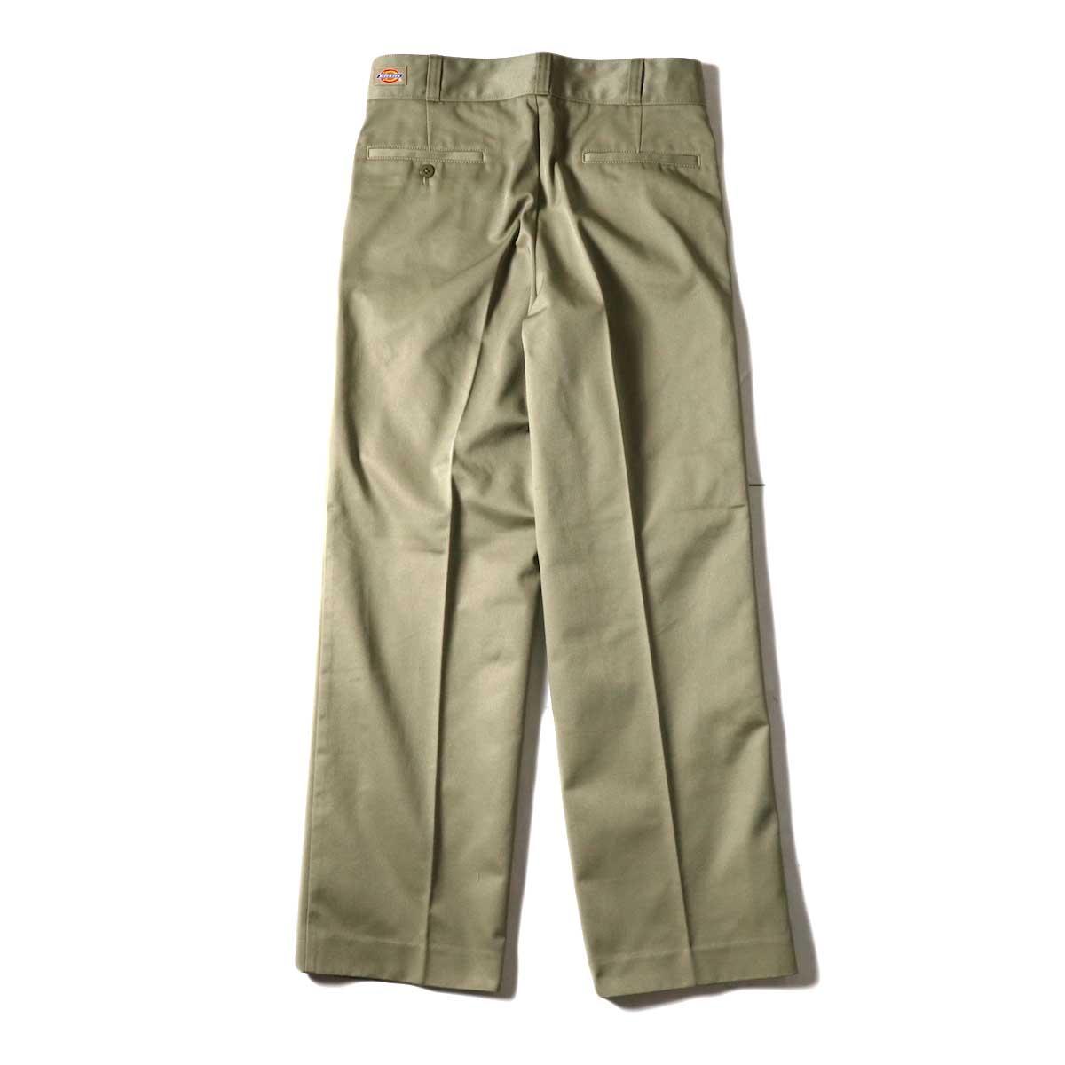 UNUSED / UW0913 Unused x Dickies  2Tuck Pants (Beige) 背面