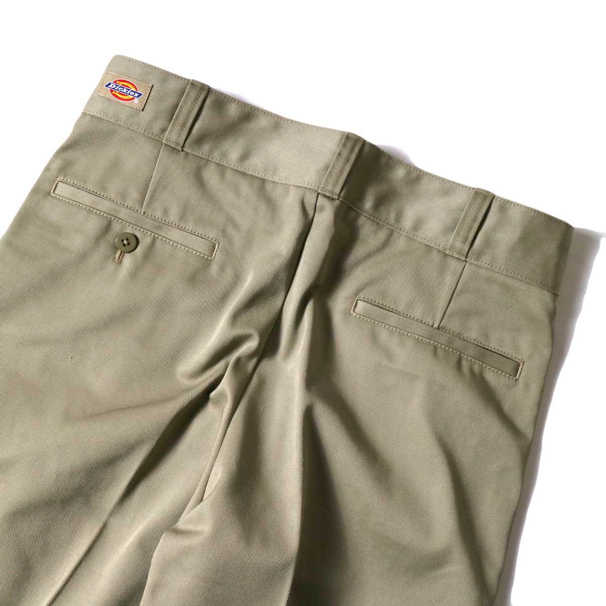 UNUSED / UW0913 Unused x Dickies  2Tuck Pants (Beige) ヒップポケット