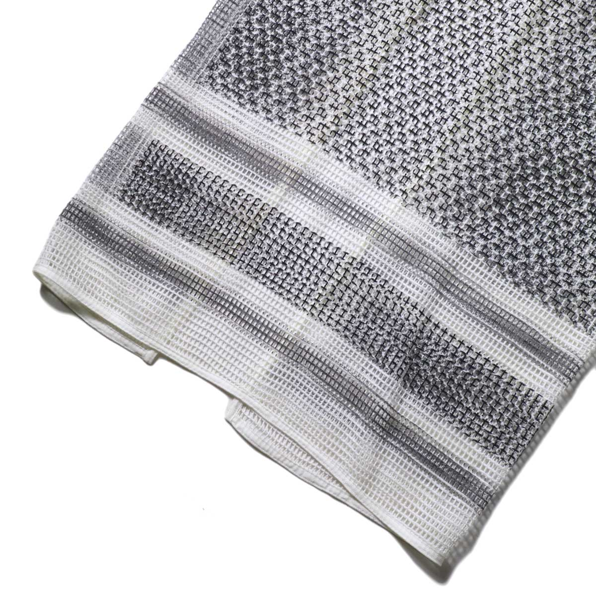 UNUSED / UW0967 cotton square mesh apron one piece 裾