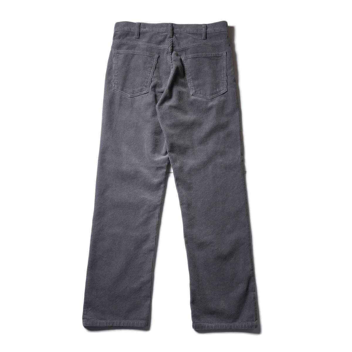 UNUSED / UW0982 CORDUROY PANTS (Gray) 背面
