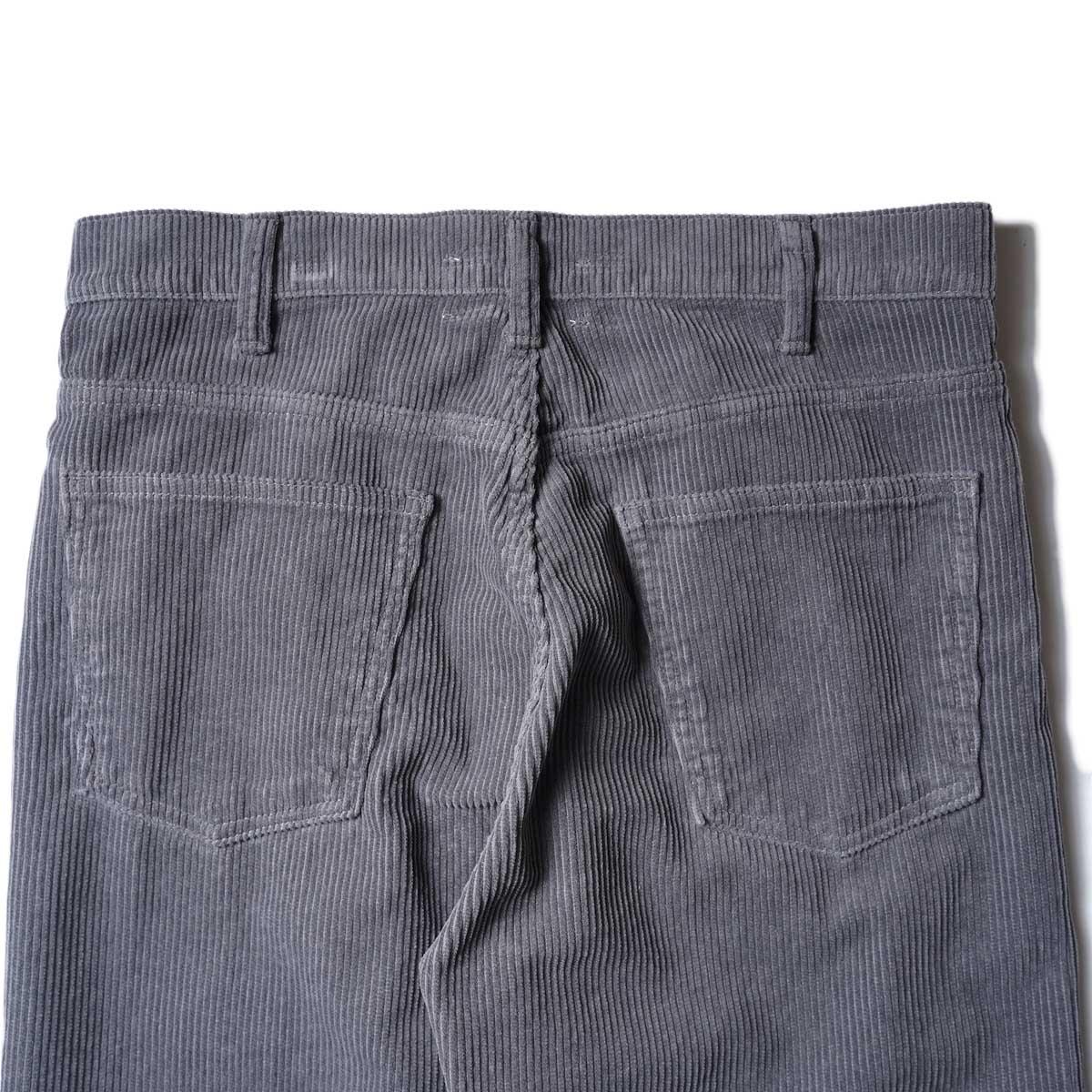 UNUSED / UW0982 CORDUROY PANTS (Gray) ヒップポケット