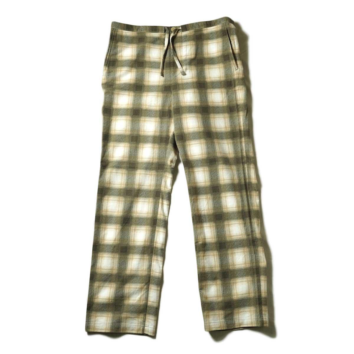 UNUSED / UW0993 Check Pants (Beige)