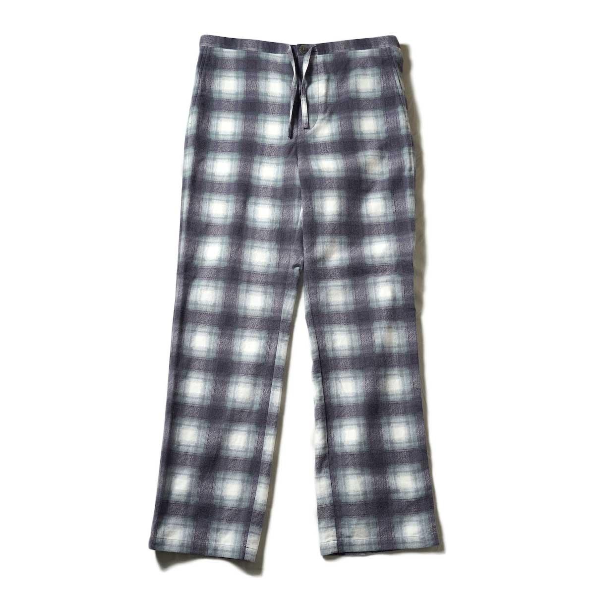UNUSED / UW0993 Check Pants (Purple)