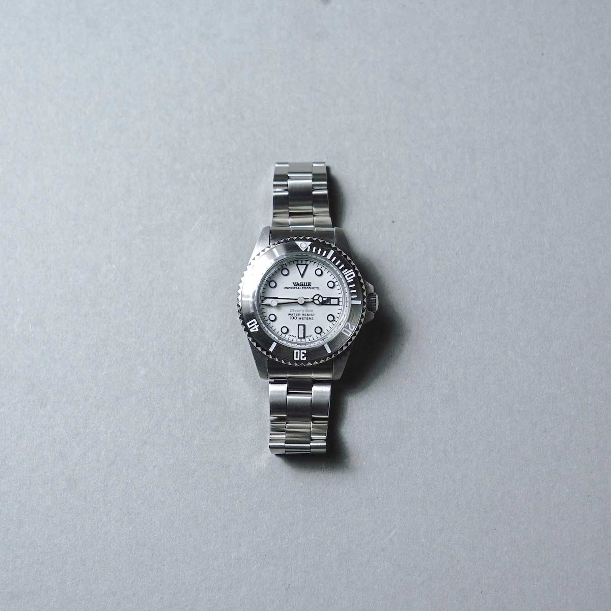 UNIVERSAL PRODUCTS × VAGUE WATCH / Diver's Son Mono