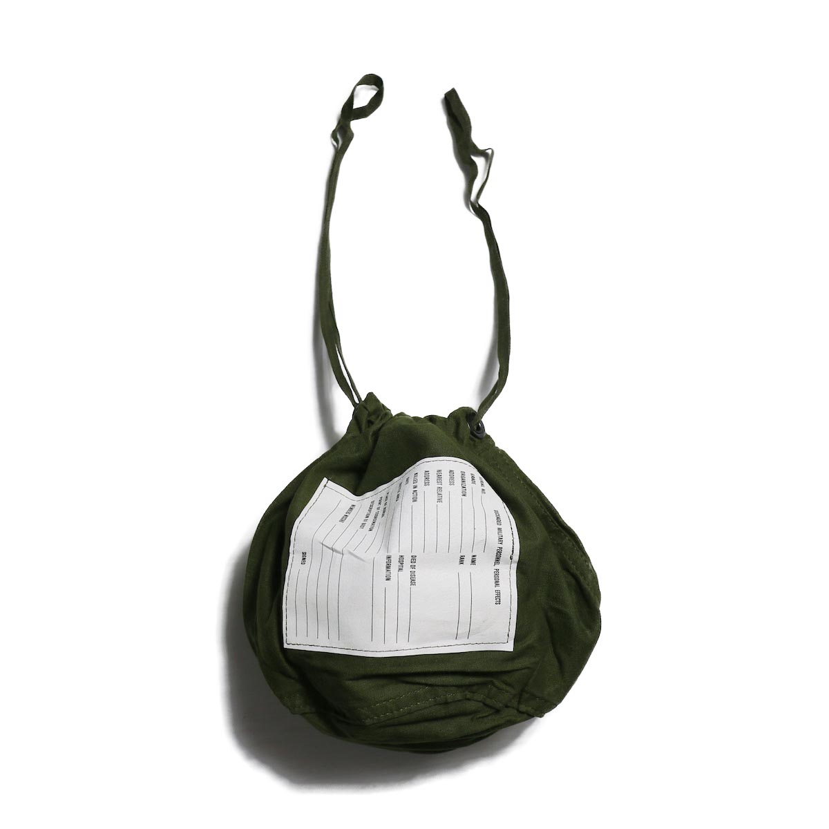 US MILITARY / PERSONAL EFFECTS BAG (DEAD STOCK)