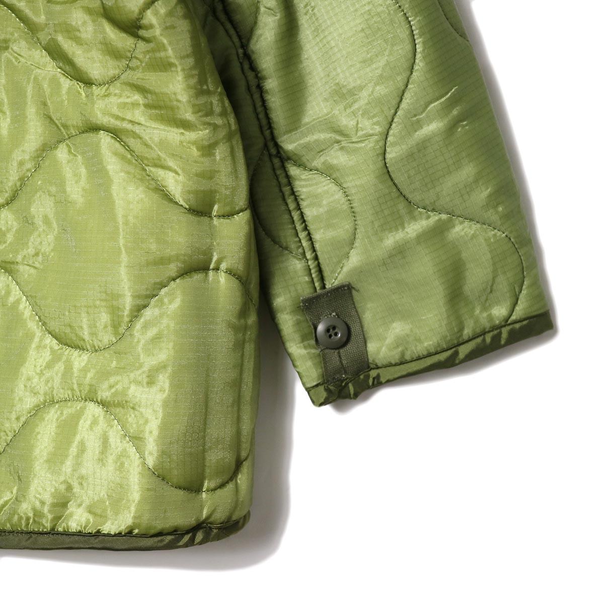 US MILITARY / ZIP SHORT LINER 袖・裾