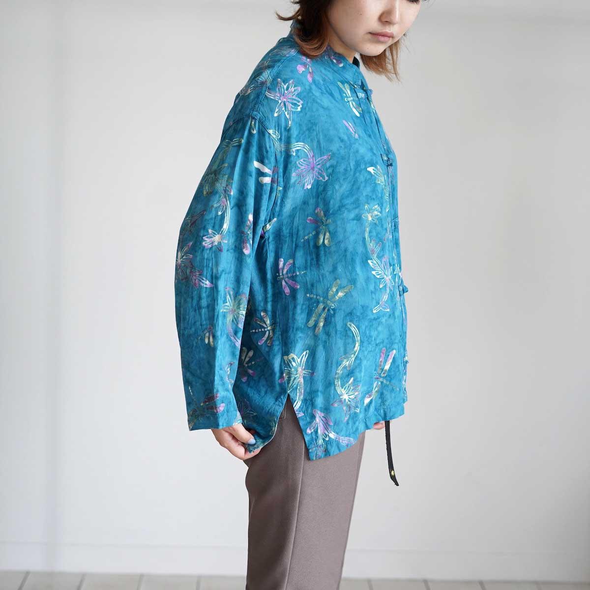 USED / Print Shirt (G) 着用・横