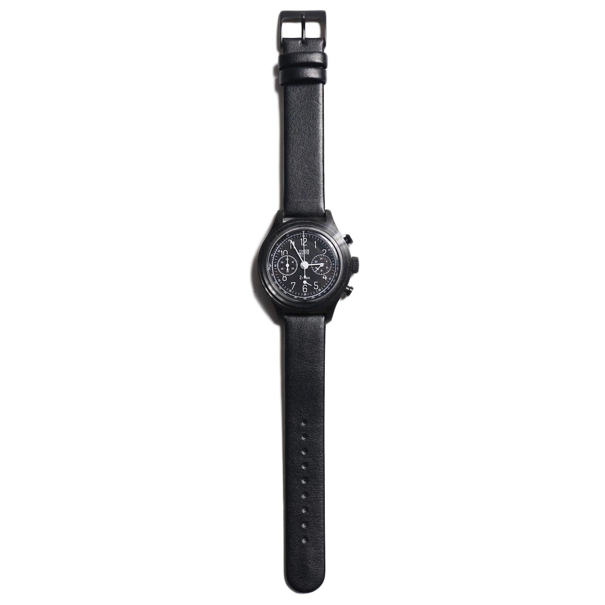 Vague Watch Co. / 2EYES クロノグラフ -Black