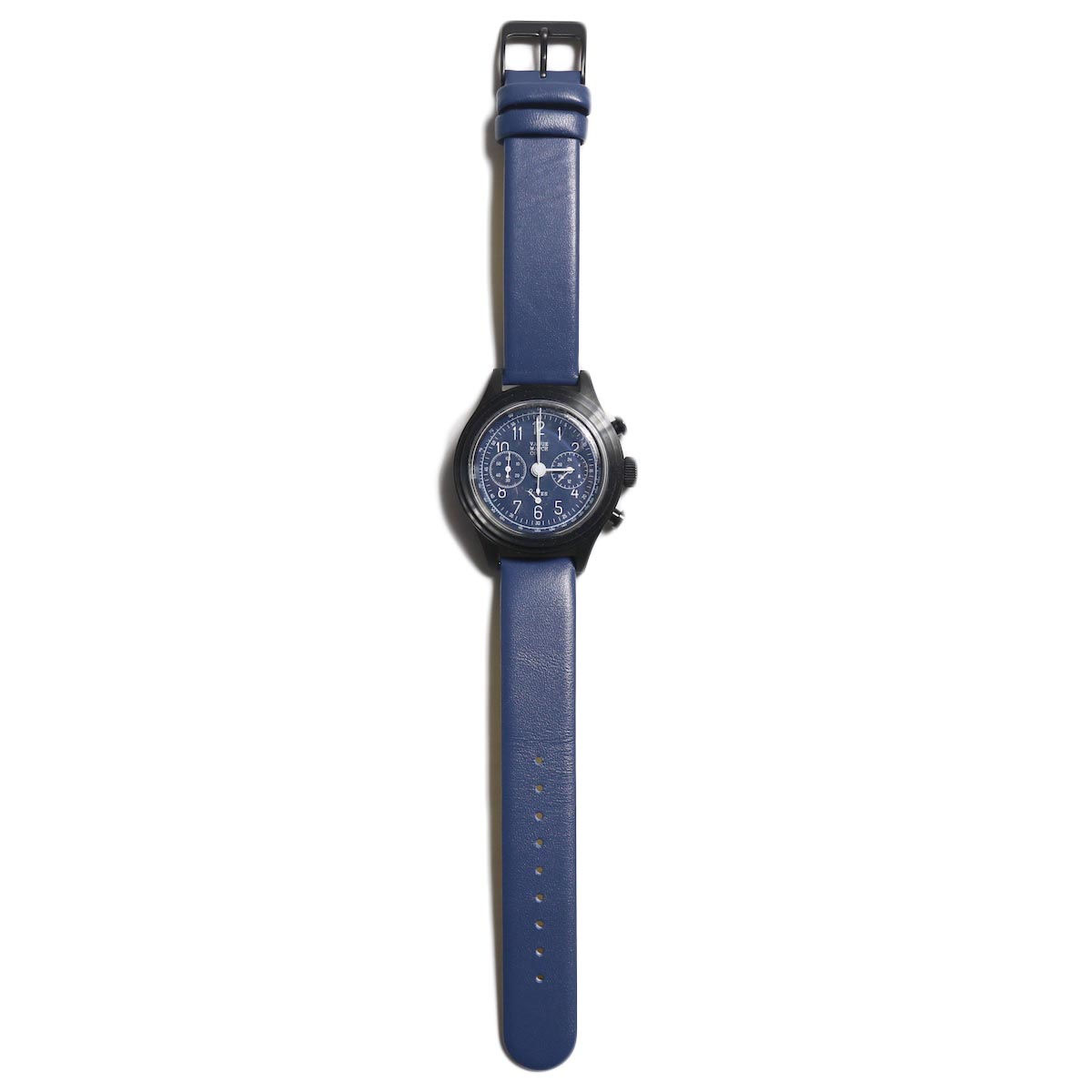 Vague Watch Co. / 2EYES クロノグラフ -Navy