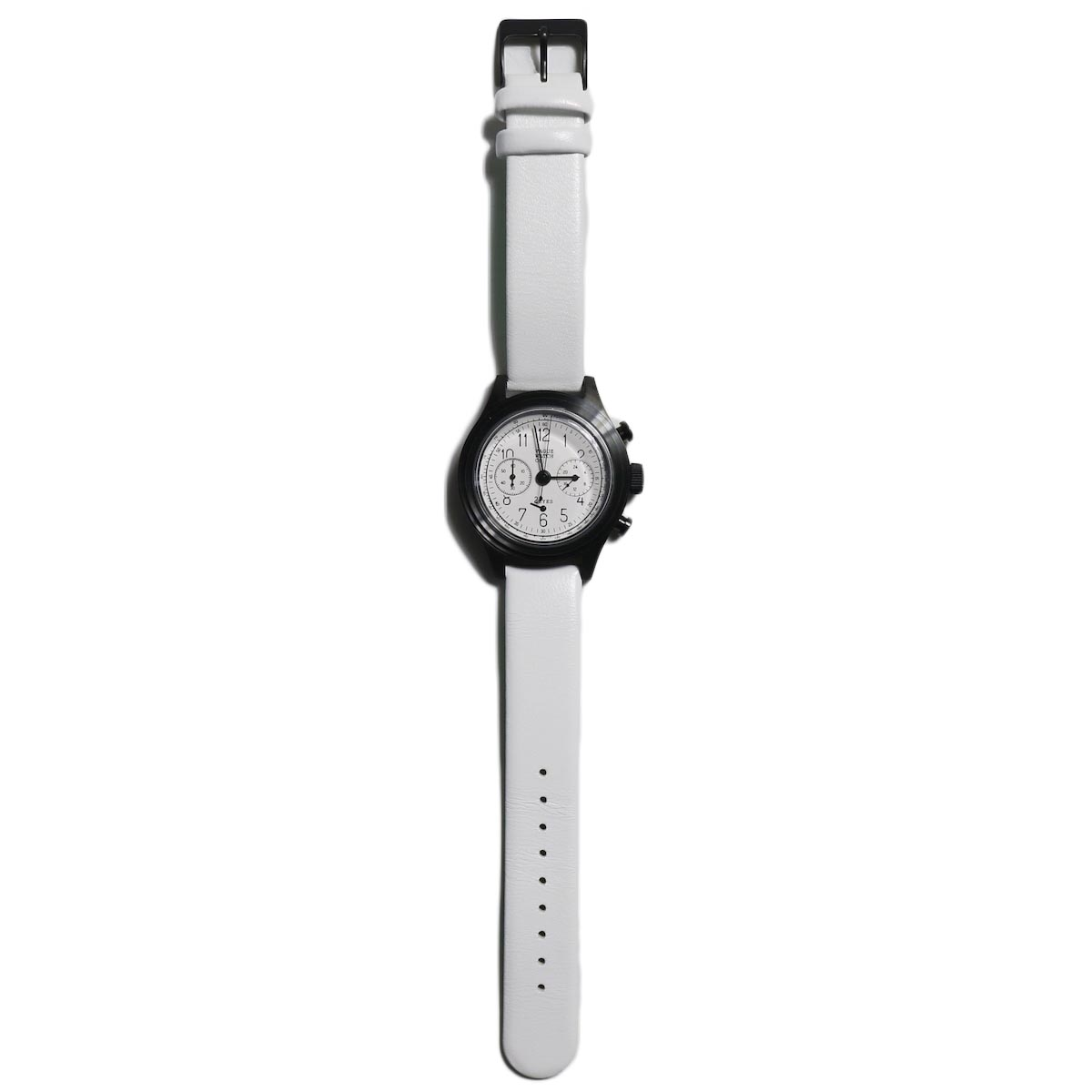 Vague Watch Co. / 2EYES クロノグラフ -White