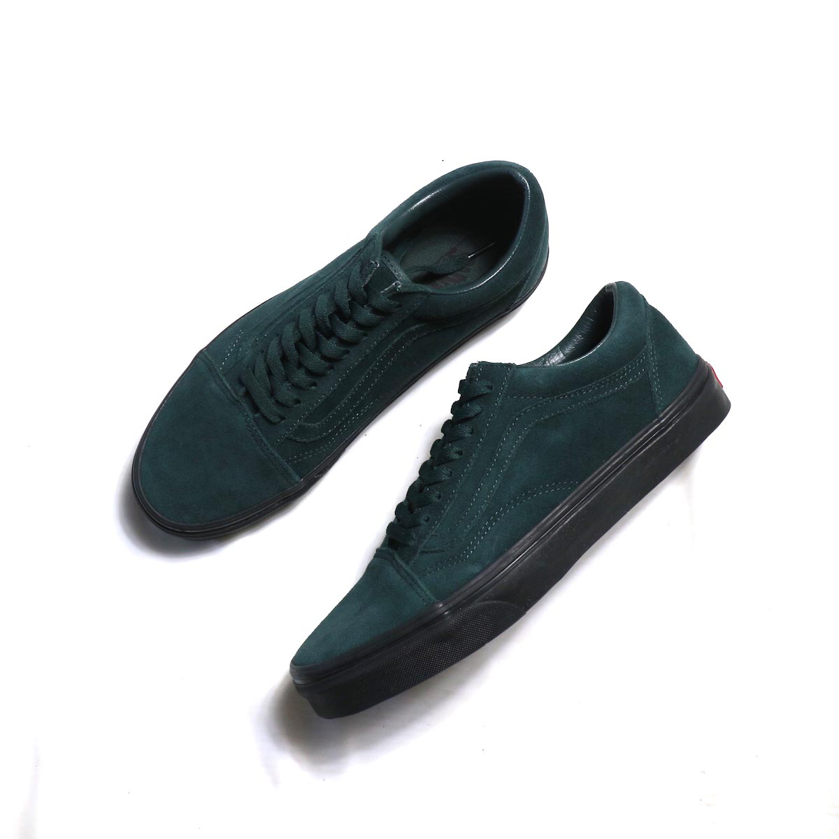VANS / OLD SKOOL (BLACK OUTSOLE) DARKEST SPRUCE/BLACK